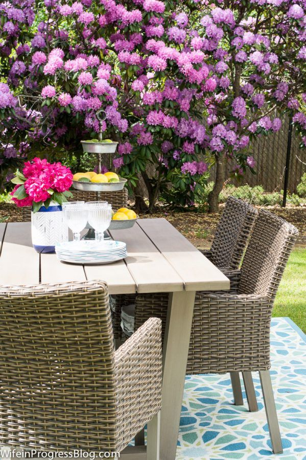 How To Decorate A Patio Area | Patio Decor #sponsored