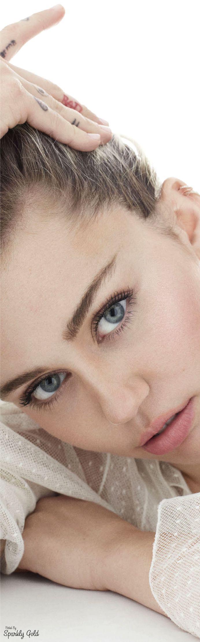 Miley Cyrus Elle Oct 16