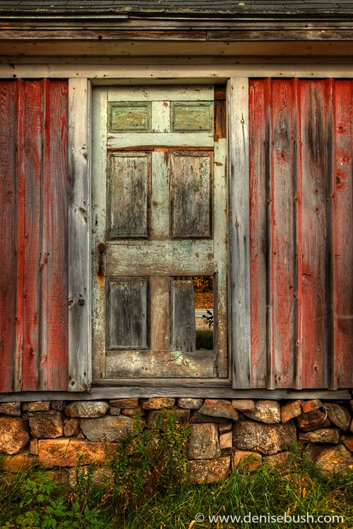 Old Barn door. By Denise Bush: Barn Doors, Color, Rustic Looks, Rustic Doors, Old Barns Doors, Old Doors, Red Barns, New Hampshire, Caramel Apples