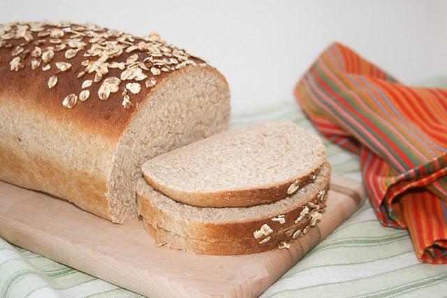 Honey Oat Wheat Bread | *RECs~BREADS♥ | Pinterest