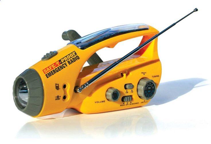 Solar Emergency Radio Kit