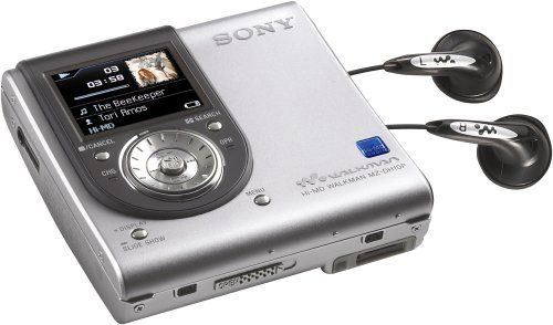 Sony MZ-DH10P Hi-MD Walkman Digital Music Player with 1.3 MP Digital Camera