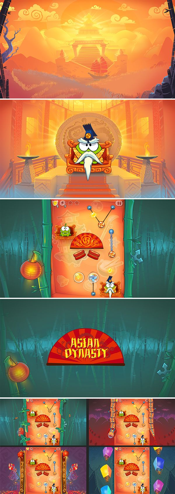 Game art on Behance ★ Find more at http://www.pinterest.com/competing