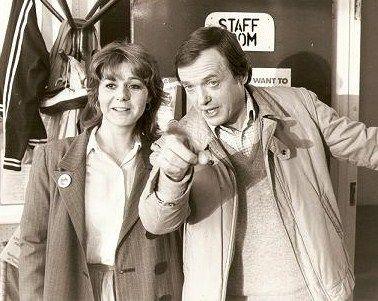 Barbara Flynn and James Bolam in The Beiderbecke Affair