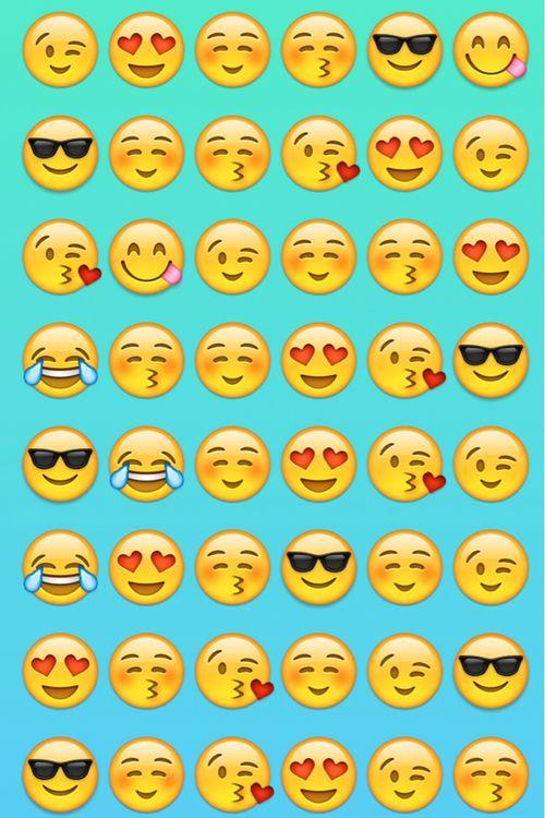 Fondo de pantalla de emojis / an emojis's wallpaper