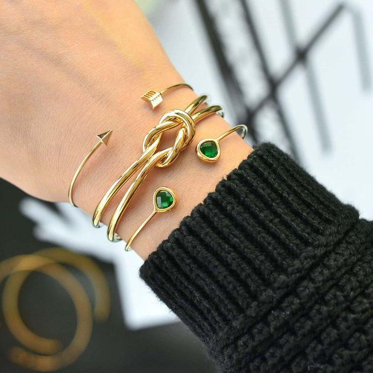 Flèche Boho Gold Bracelet