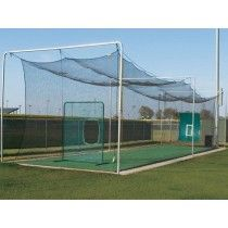 Batting Cage Outdoor Frame With Installation Kit U2013 4 Sections
