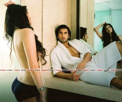 Sonali Raut's topless picture with Ranveer Singh resurfaces online after Bigg Boss A sexy seductive topless picture of Bollywood actress Sonali Raut posing with actor Ranveer Singh has resurfaced online, three years after it was shot for a magazine.