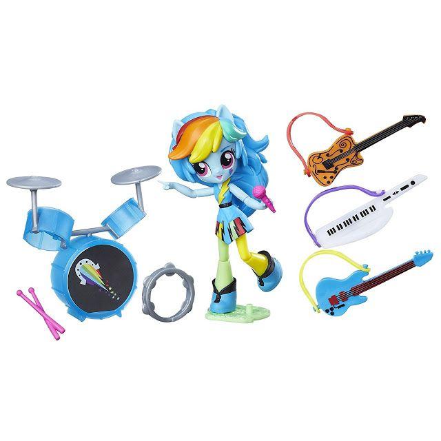 My Little Pony Equestria Girls Minis Rainbow Dash Music Practice Doll