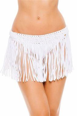 PILYQ Water Lily Fringe Skirt White $115 SHIPS FREE FROM BEACH HIPPIE: WEBSITE: www.beachhippieinc.net