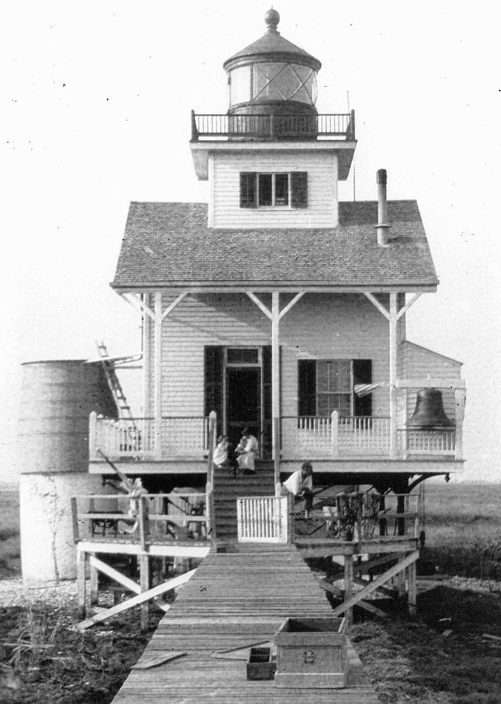 Rigolets #lighthouse built in 1855; completely destroyed by Katrina http://www.roanokemyhomesweethome.com