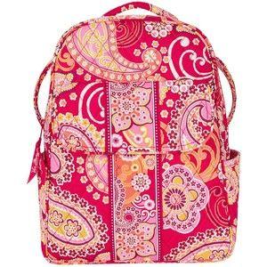 Vera Bradley Backpack in Raspberry Fizz