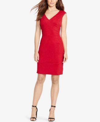 $89 - Macys - American Living Jacquard Sheath Dress