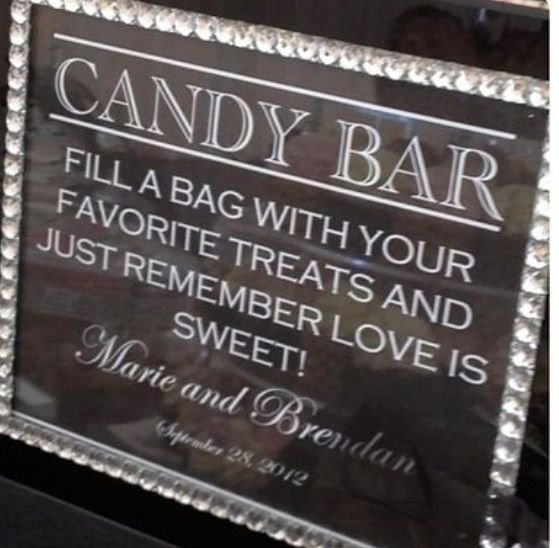 A candy table would be great for younger children and ones with a sweet tooth!