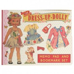 Dress Up Dolly Memo Pads   Paper Products Online