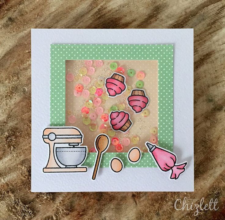 Lawn Fawn Baked with Love shake card | Flickr - Photo Sharing!
