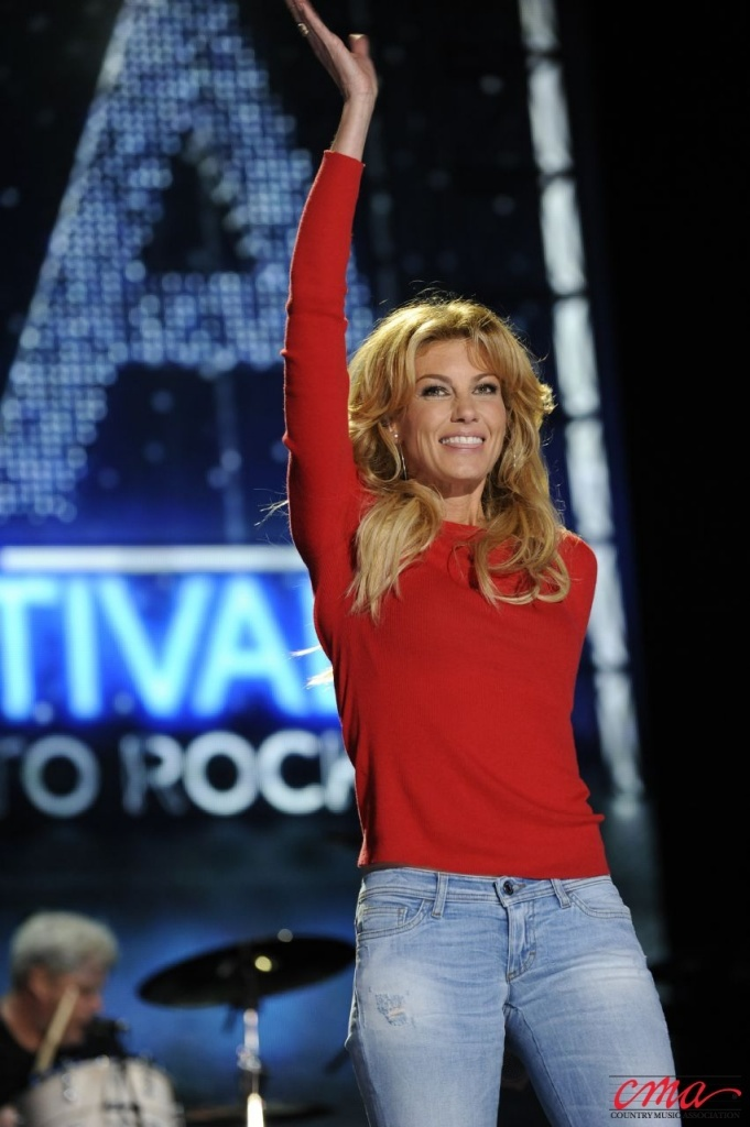 Faith Hill looked fantastic performing at LP Field in Downtown Nashville on Saturday, June 9 during the 2012 CMA Music Festival. Photo courtesy of the CMA. , 2012