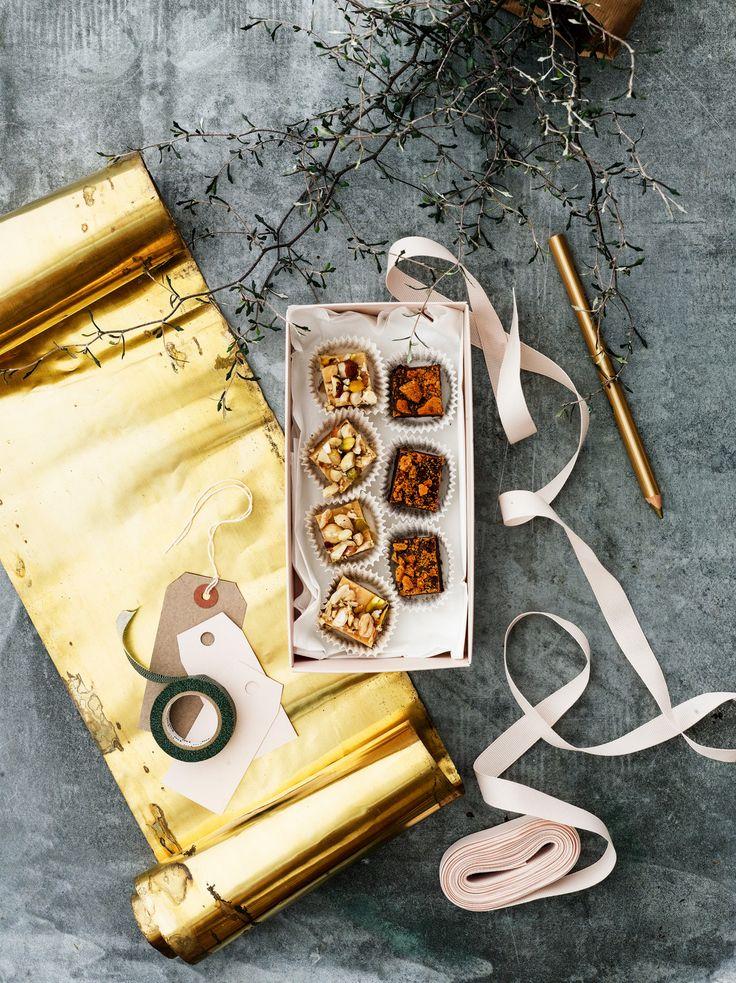 Maapähkinävoifudge | K-Ruoka #joulu