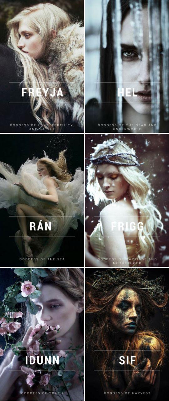 Norse Mythology //Popular Goddesses