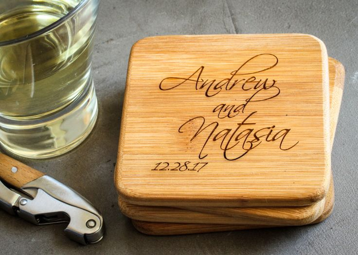 Personalized Coasters Wedding Gift: 1000+ Ideas About Personalized Coasters On Pinterest