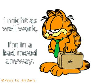 Oh garfield gets it right