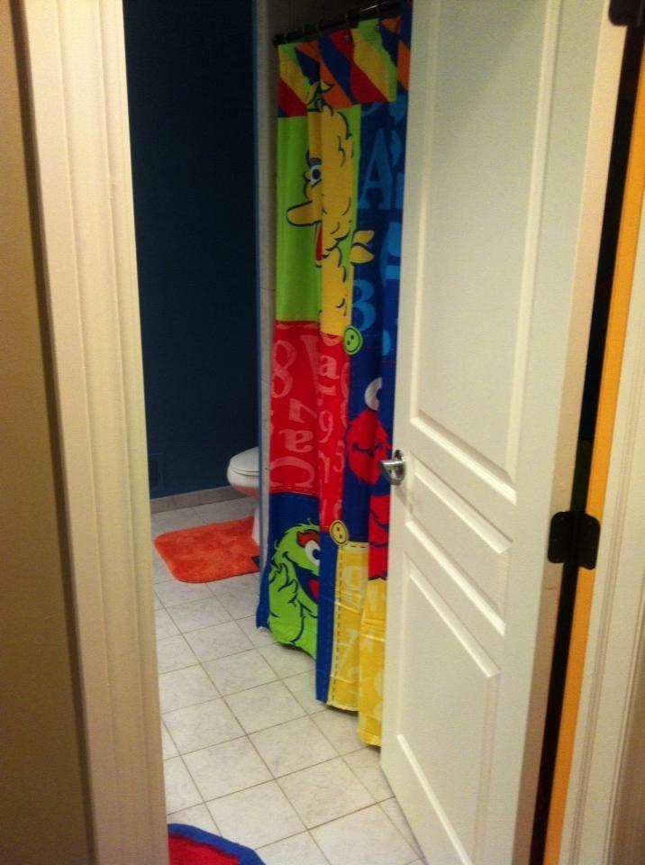Sesame Street Bathroom With Images Baby Bathroom Home