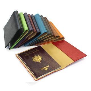 Étui passeport cuir personnalisé
