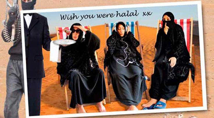 Muslim comic says jihadists' 'machismo', not religion is what lures teen brides  http://pronewsonline.com  © Shazia Mirza