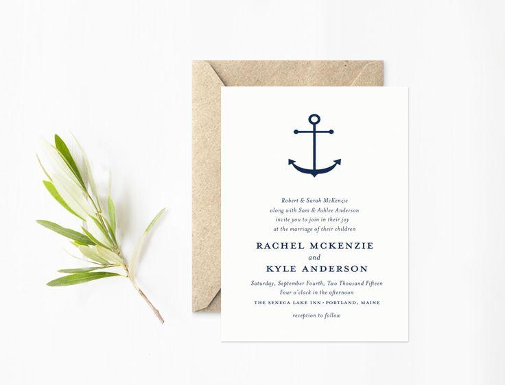 Sailboat Wedding Invitations: Best 25+ Nautical Invitations Ideas On Pinterest