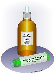 Baryta carbonica rimedio omeopatico si ottiene dalla triturazione con lattosio del carbonato di bario e dalle successive diluizioni/dinamizzazioni in soluzione idroalcolica.