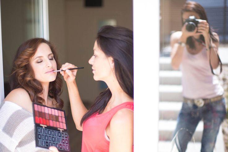 #Makeup a #Focení pro módní návrhářku Ivetu Paulerovou