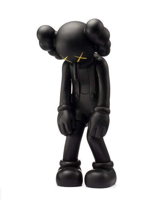 Small Lie - Kaws 2017 Vinyl toy figurine Black Edition factory sealed 100% Authentic