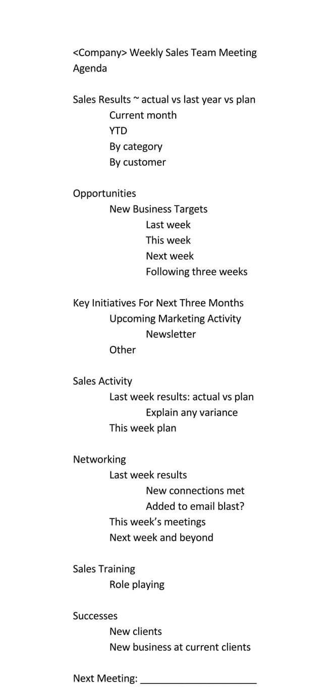 Pin On Amazing Template Ideas Weekly staff meeting agenda template