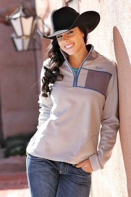 Cruel Girl Quarter Zip Pull Over Top - New for 2013