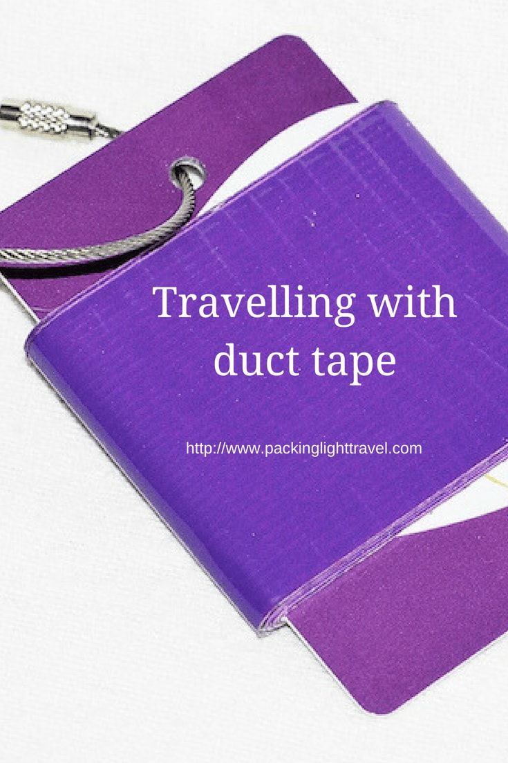 Travelling-with-duct-tape duct tape travel kit duct tape fob