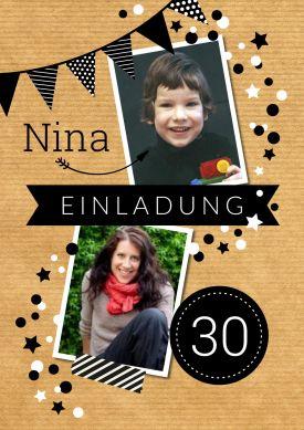 110 besten 30 Geburtstag Einladungskarten Bilder auf Pinterest