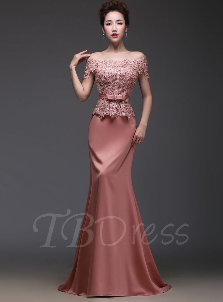 Tbdress.com offers high quality Tbdress Off-the-Shoulder Lace Beadings Floor-Length Evening Dress Vintage Evening Dresses unit price of $ 125.39.