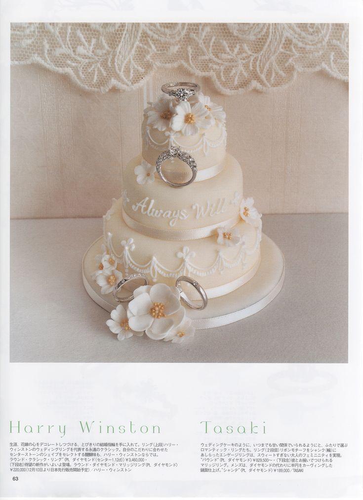 45 best miniature wedding cakes images on Pinterest Mini cakes