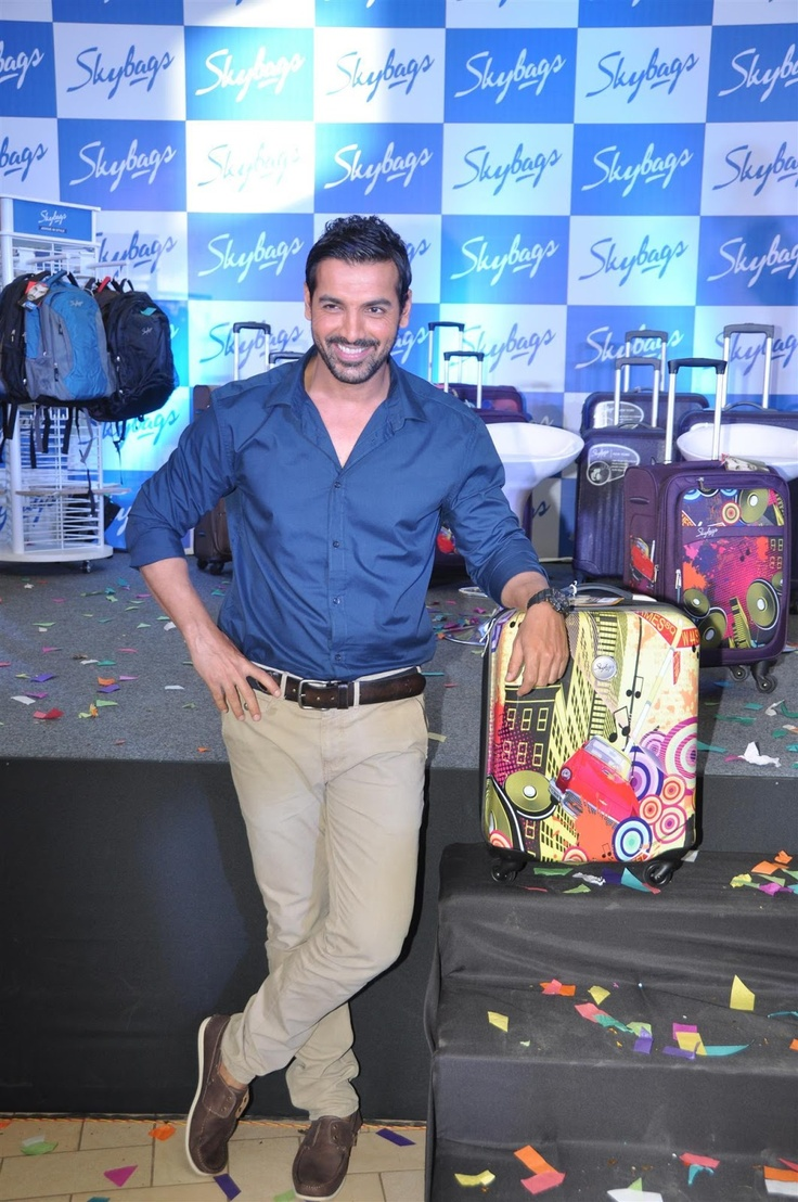 John Abraham Launches Skybags New Collection.