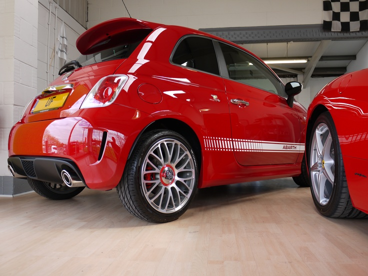 Fiat 500 Abarth   New Car Protection Treatment With Gtechniq C1 Crystal  Lacquer