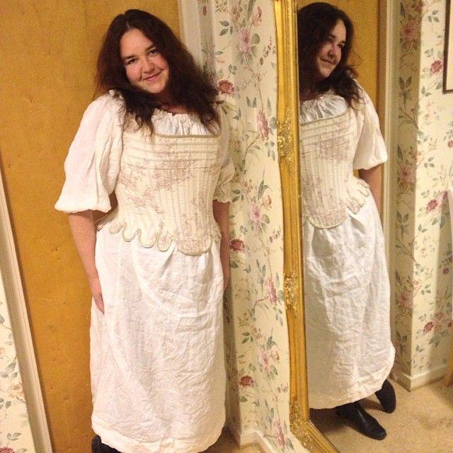 Rokoko corset #gloriamundi (på/i tegelstenclothes)