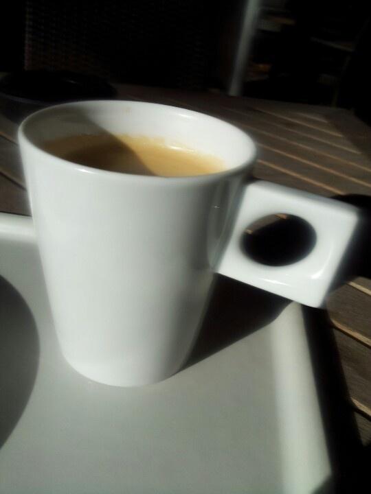 Frühstückskaffee bei Döbbe in Bergerhausen