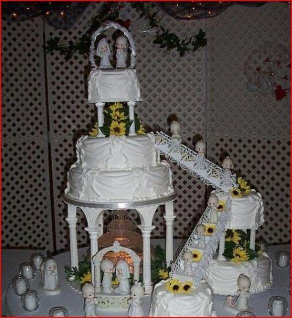 wedding cake fountains stairway wedding cakes staircase wedding cake with lots 8651
