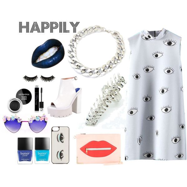 """""""Happily"""" by shaysarai on Polyvore"""