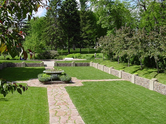 50 best images about sunken garden on pinterest for Terrace park swimming pool sioux falls