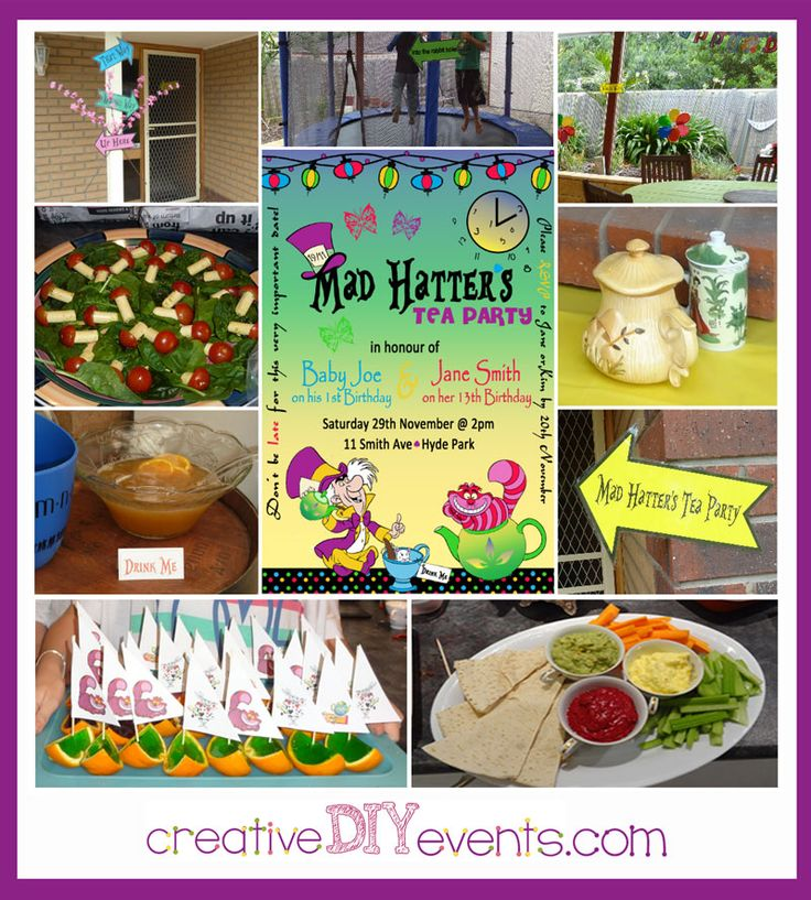 27 Best Mad Hatter Tea Party: Creative DIY Ideas Images On