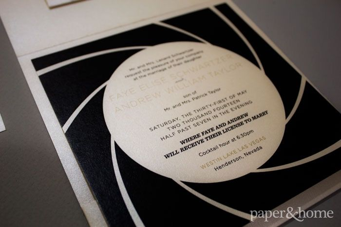 James Bond Wedding Invitations: Faye and Andy | http://www.paperandhome.com/james-bond-wedding-faye-and-andy/ planning: @schemeevents