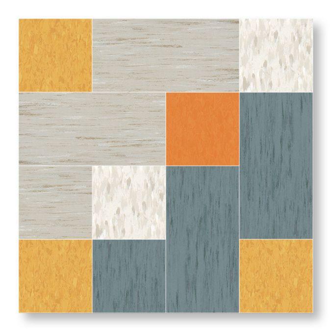 Azrock TexTile Modular VCT Tile & Plank Flooring - pattern