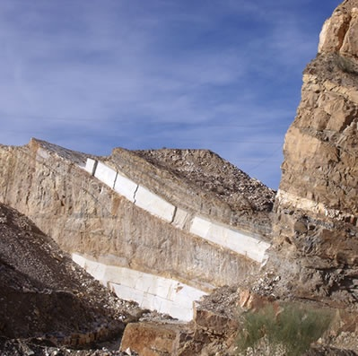 Macael - Canteras marble quarries...