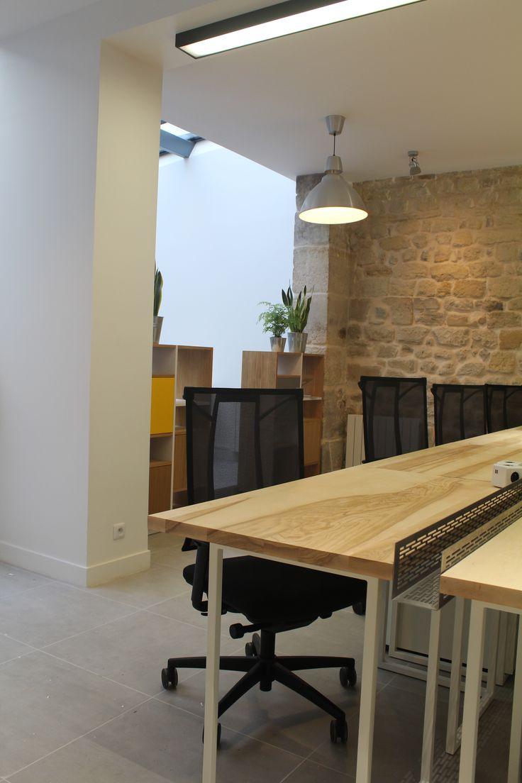 le.nid AI - projet 75_11è - aménagement d'un espace de travail en coworking - espace bureaux n° 2